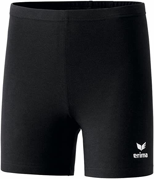 Erima Unisex dziecięce legginsy Verona czarny czarny 128