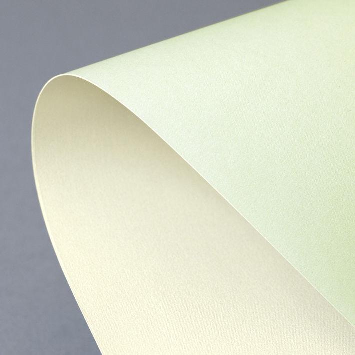 Karton ozdobny Prime zielono-kremowy - op. 20 szt A4, 220 g/m