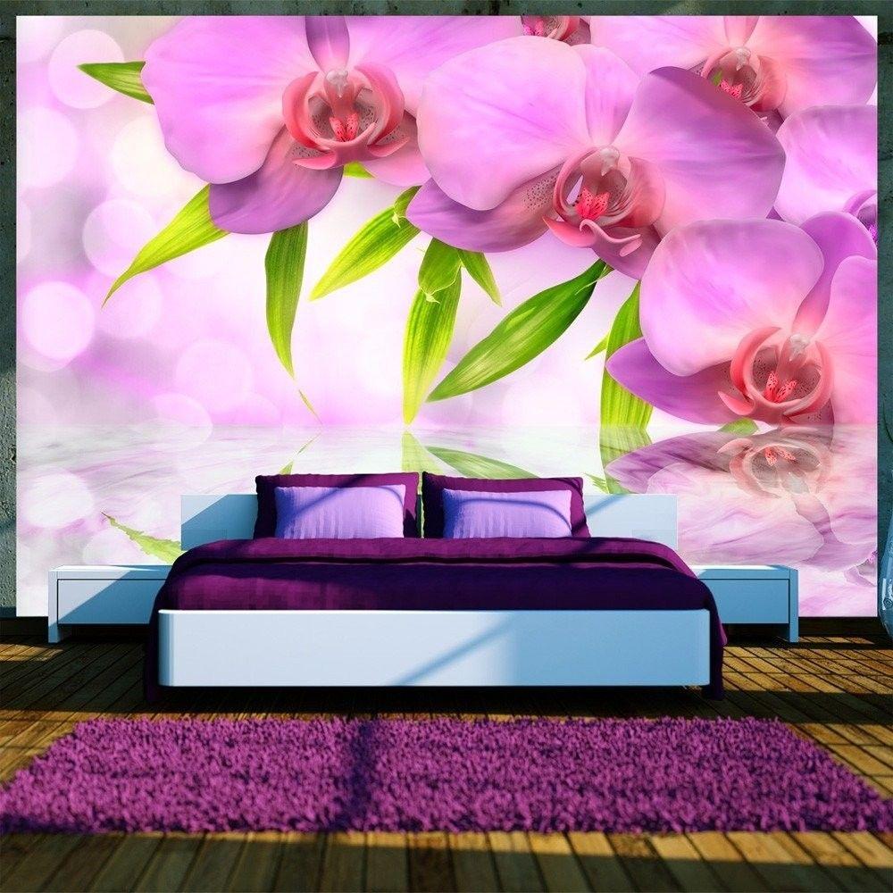 Fototapeta - orchidee w kolorze lila
