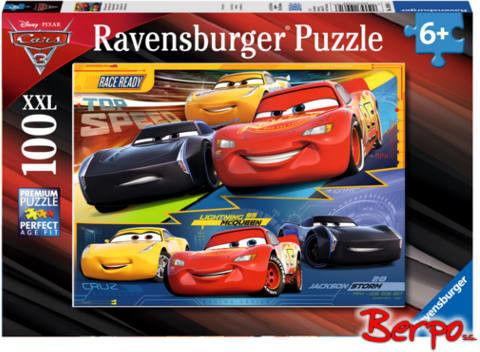 Ravensburger - Puzzle Auta 3 Zawrotna prękość 100 elem. 109616