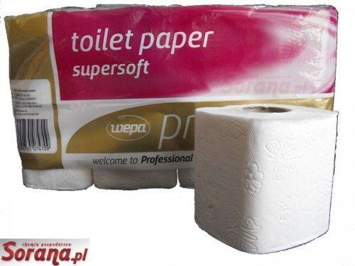 Papier toaletowy Satino Wepa Prestige 8 rolek 150l 3 warstwy