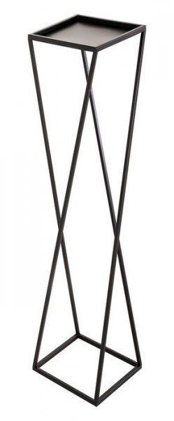 Kwietnik metalowy - Stojak wielofunkcyjny skośny 83x22cm