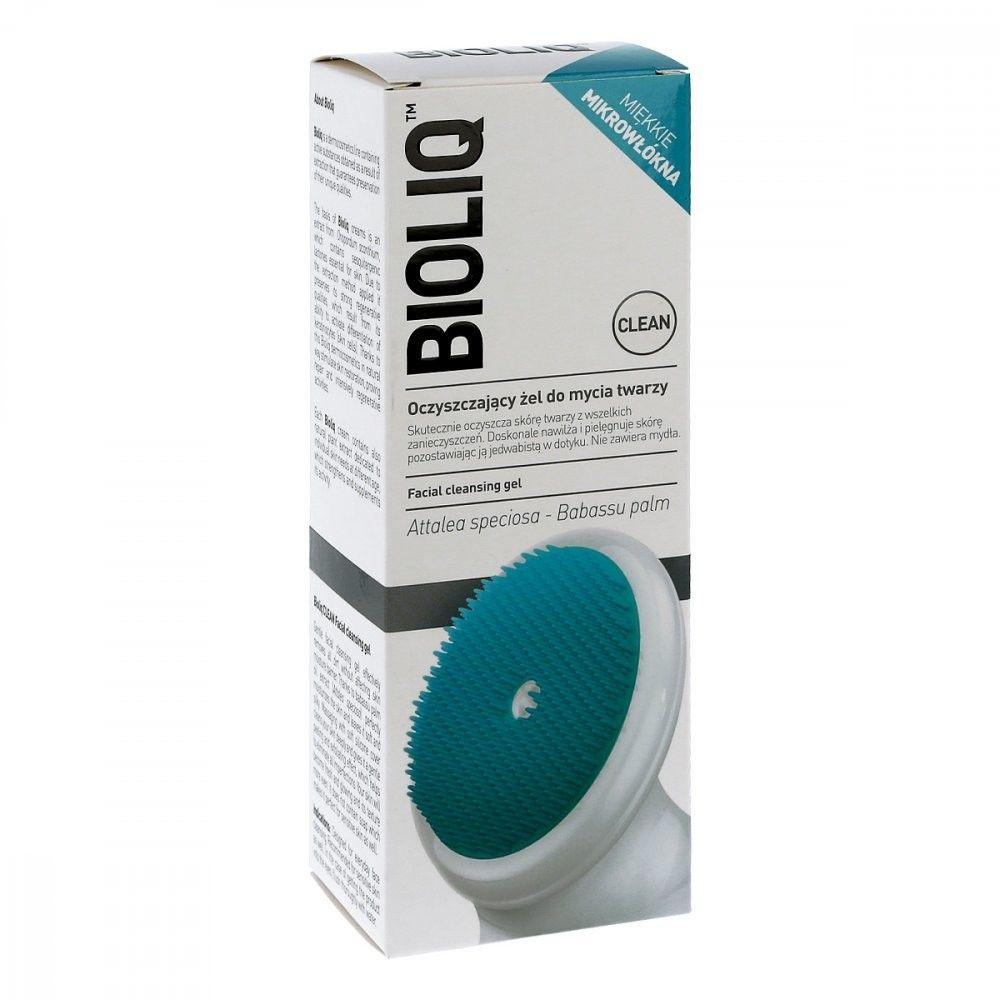 BIOLIQ Clean oczyszczający żel do mycia twarzy