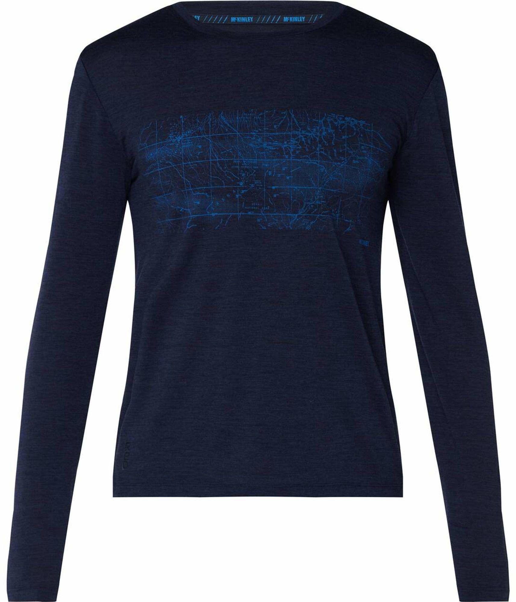 McKINLEY Męska koszulka Curra, Navy Dark, XL