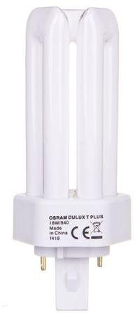 Świetlówka kompaktowa GX24d-2 (2-pin) 18W 840 4000K DULUX T 4050300333465