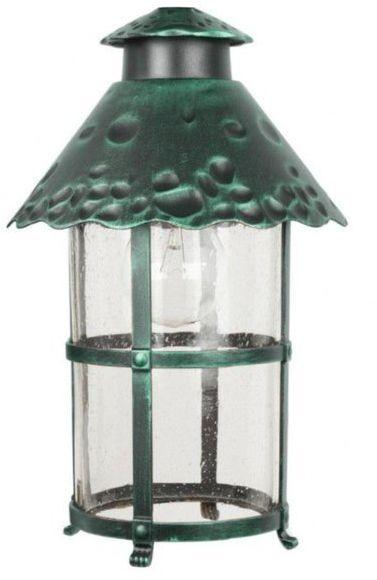 Aluminiowy klosz ozdobny zewnętrzny TOLEDO K 1018 R zielony