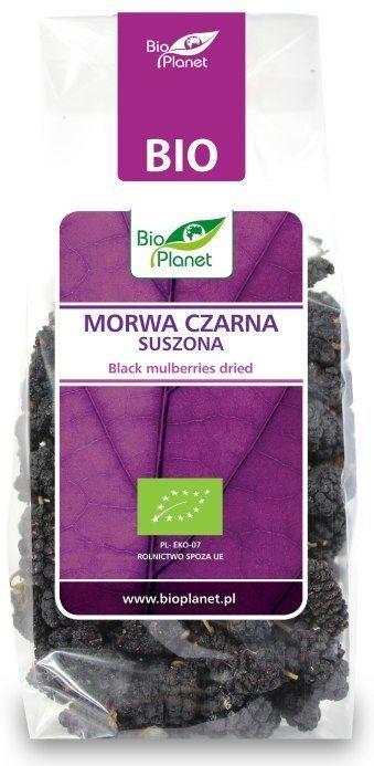 Morwa Czarna Suszona 100g - Bio Planet - BIO EKO