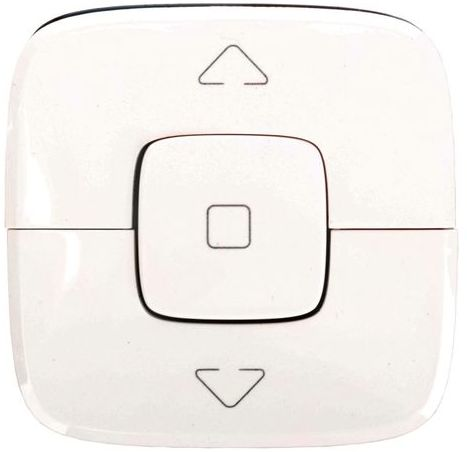 VALENA ALLURE Klawisz łącznika lub przycisku sterowania rolet biały 755145
