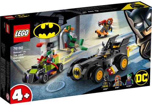 LEGO Super Heroes - Batman kontra Joker pościg Batmobilem 76180