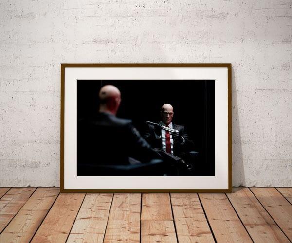 Hitman ver1 - plakat wymiar do wyboru: 60x80 cm