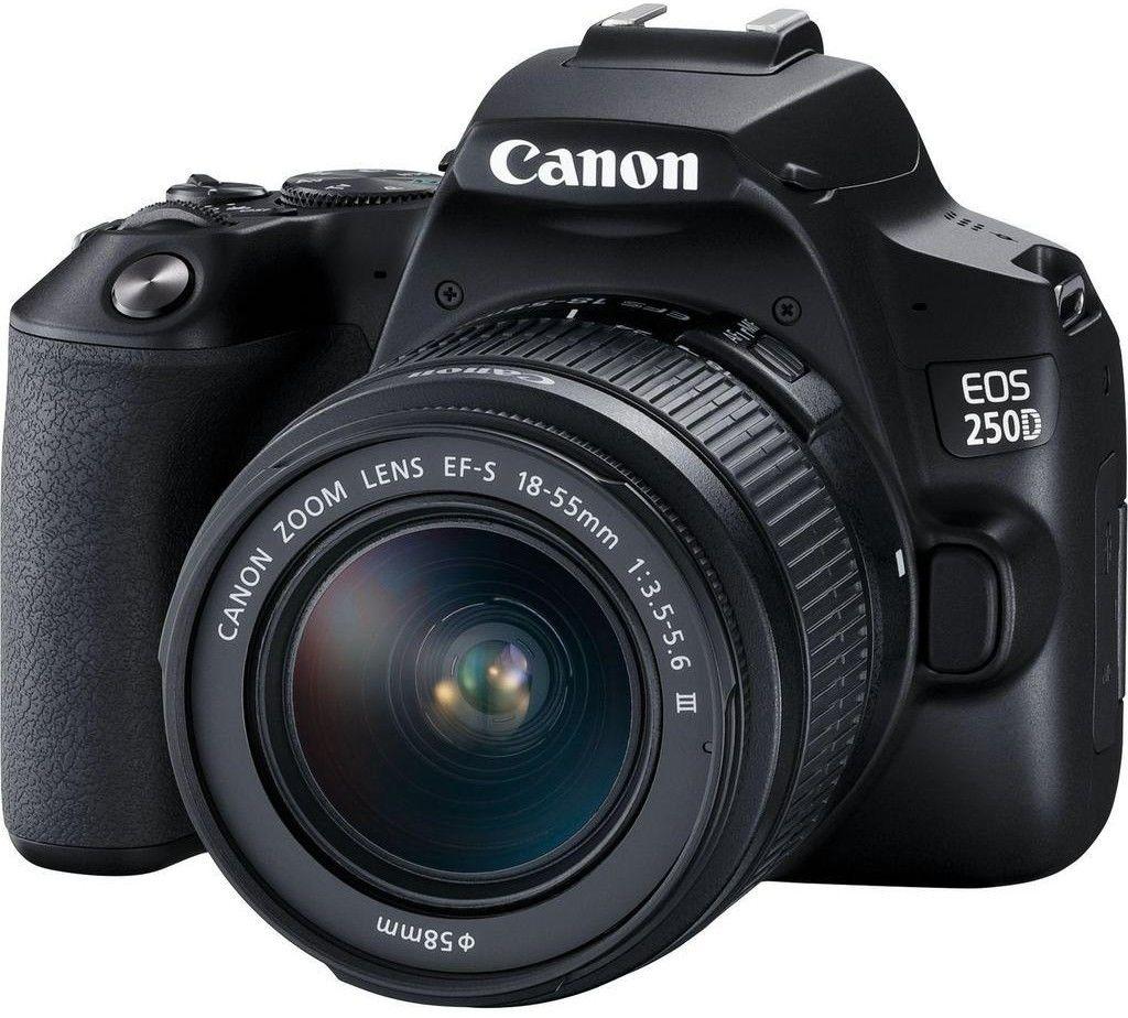Canon EOS 250D + EF-S 18-55 f/3.5-5.6 III Czarny