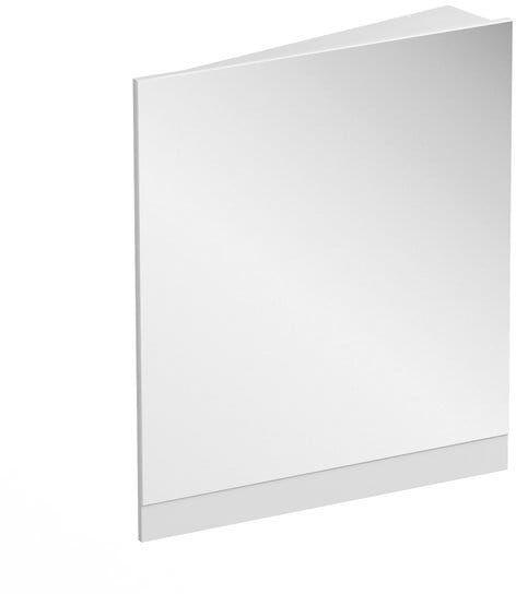 RAVAK 10  lustro narożne 55 cm prawe korpus biały X000001073