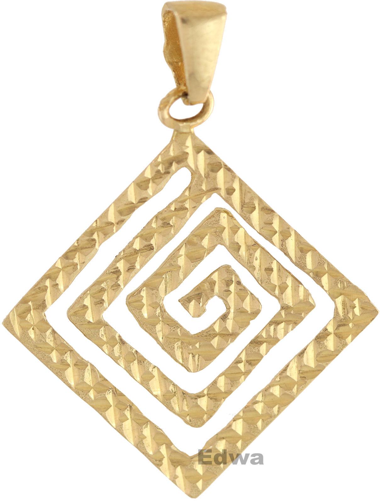 Zawieszka złota labirynt, pr.585