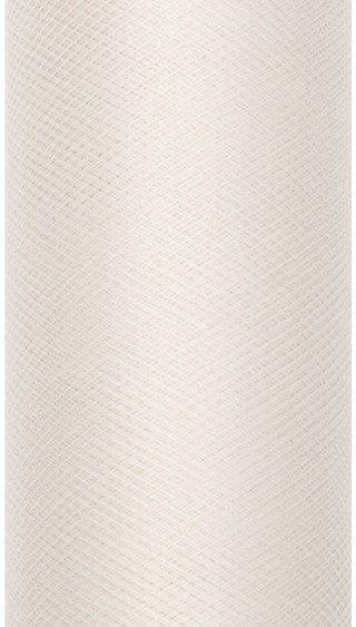 Tiul dekoracyjny kremowy 30cm x 9m 1 rolka TIU30-079