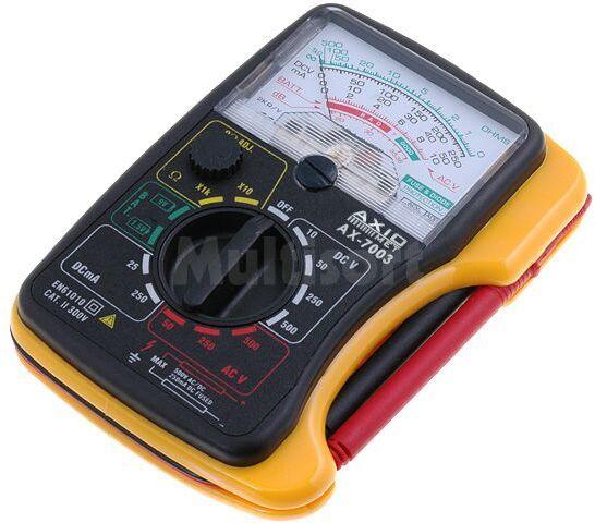 Kieszonkowy multimetr analogowy AxioMet AX-7003