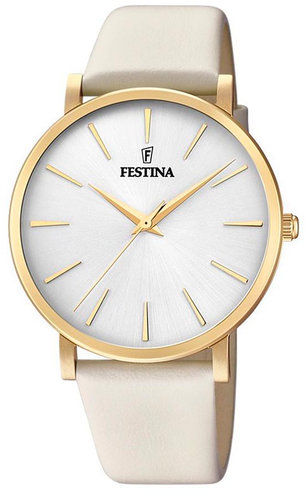 Festina Zegarek Boyfriend Collection 20372/1 Beżowy