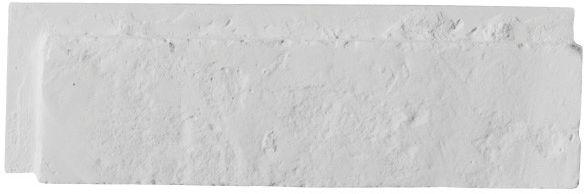 Płytka dekoracyjna Modena z fugą biała 0,46 m2