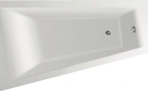 Wanna METUJE 160x100x42cm bez nóżek, lewa lub prawa, biała, Made in EU