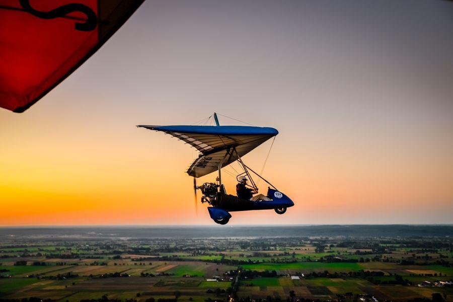 Lot motolotnią - Gorzów Wlkp - 20 minut
