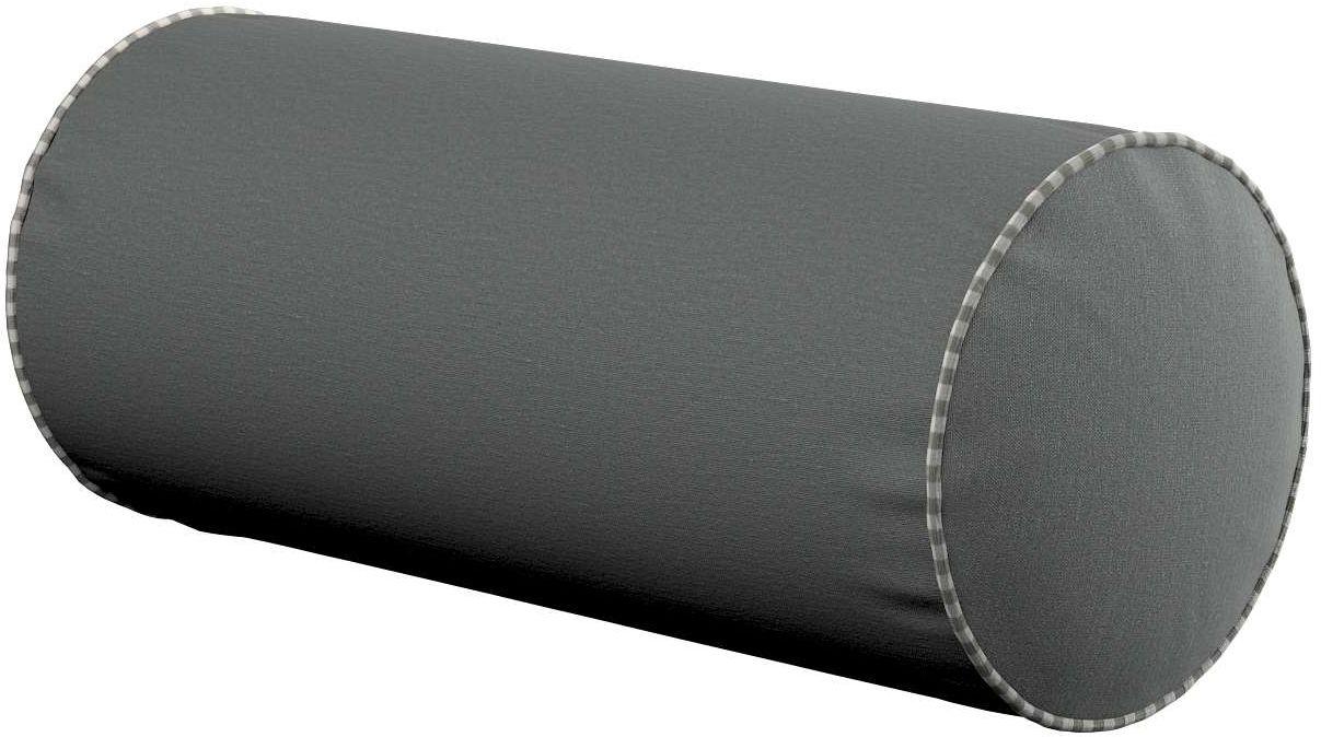 Poduszka wałek prosty, szary, Ø16  40 cm, Quadro