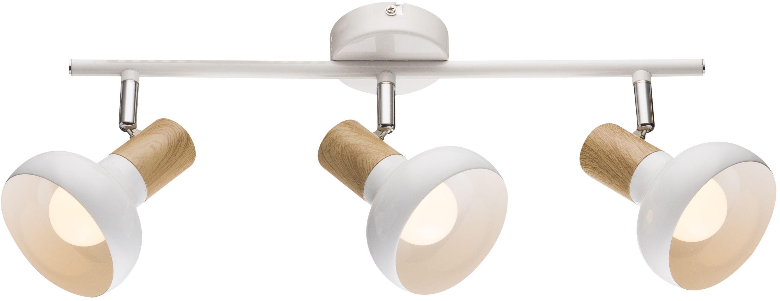 Candellux PUERTO 93-62673 listwa oświetleniowa biała 3X40W E14 regulacja klosza 53cm