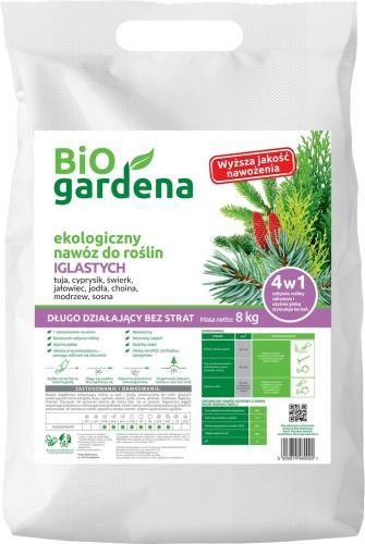 Nawóz do roślin iglastych 8kg EKO 8 kg - BIO GARDENA