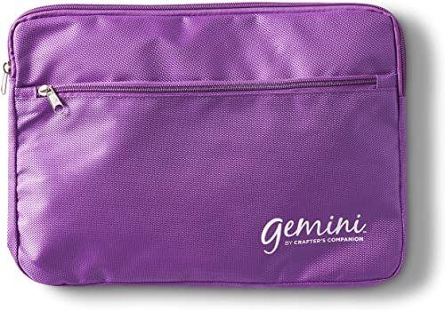 Bliźnięta 1 x torba do przechowywania talerzy, fioletowa, 23 30 cm