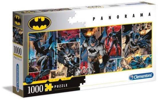 Clementoni Puzzle 1000el panorama Batman 39574 (39574 CLEMENTONI)