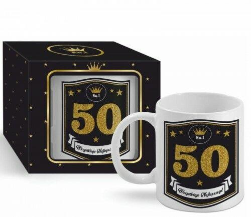 Kubek BOSS na 50 urodziny