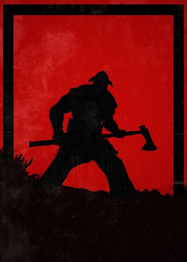 For honor - raider - plakat wymiar do wyboru: 30x40 cm