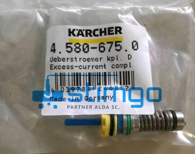 Zawór przelewowy kpl. D5,9 PUR 4.580-675.0 Karcher