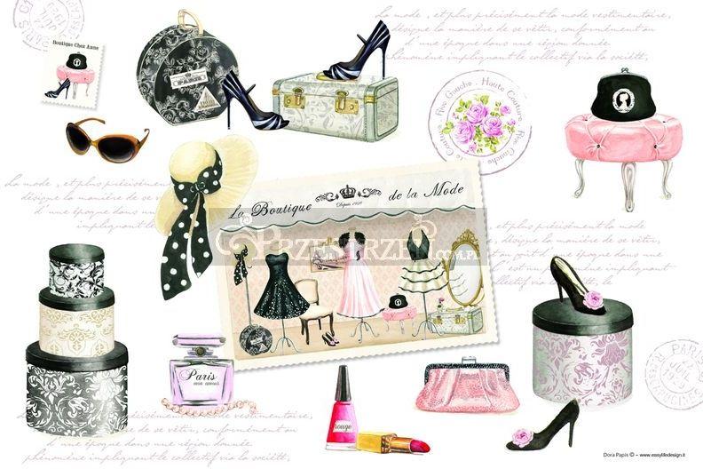 DUŻA PODKŁADKA POLIPROPYLENOWA NA STÓŁ Moda Haute Couture (550 AUCO)