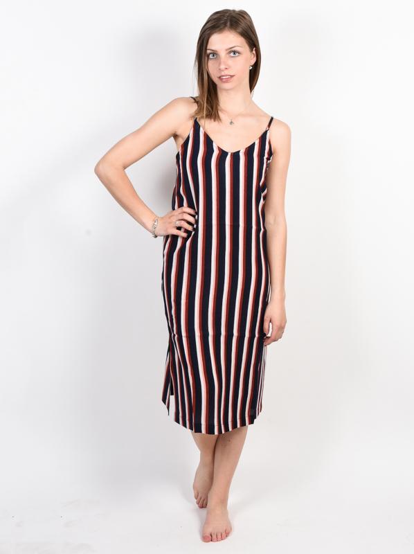 Element BOBBY INDIGO STRIPE luxury ball suknia długa - XS