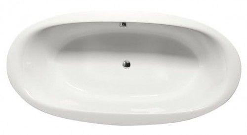 Wanna owalna STADIUM 190x95x46cm, biała, Made in EU