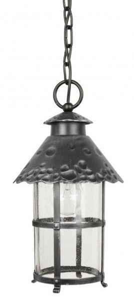 Ozdobna lampa wisząca zewnętrzna TOLEDO K 1018/1/R srebrny
