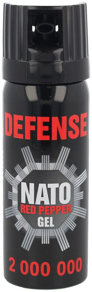 Gaz pieprzowy Sharg Defence Nato Gel 2mln SHU 50ml Cone