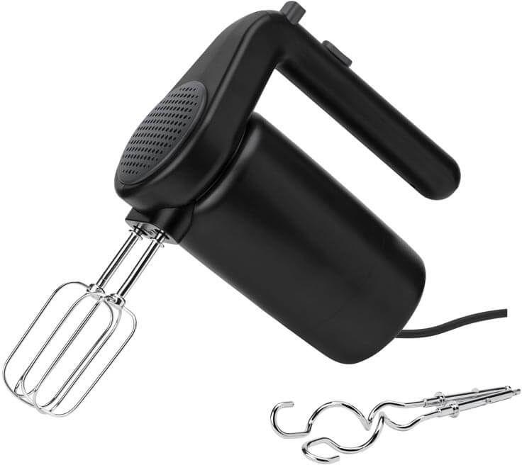 Mikser ręczny (czarny) Foodie Rig-Tig