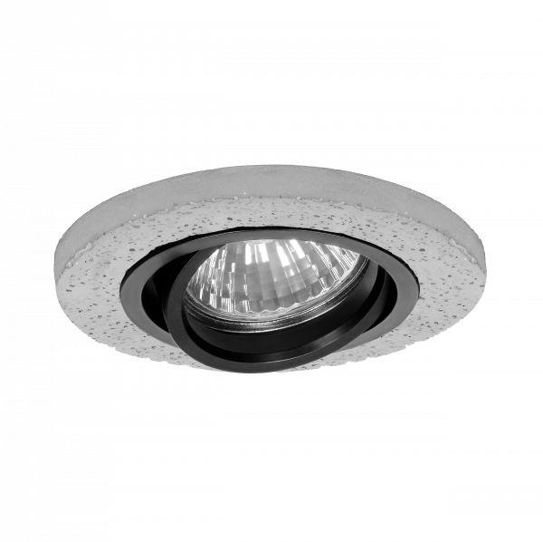 HALISI RM ramka dekoracyjna oprawy punktowej, MR16/GU10 max 50W, koło, ruchoma, czarna