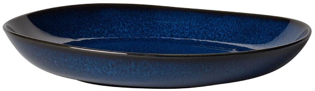 Miska płaska Lave bleu (niebieska) Like Villeroy & Boch