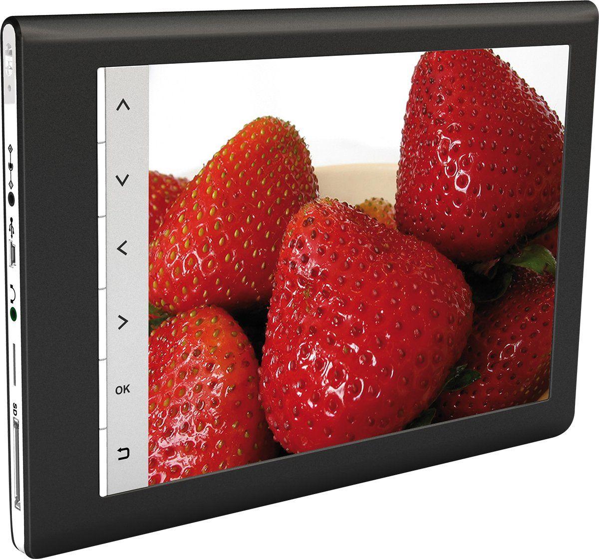 Rollei Designline 3086 ramka na zdjęcia (20,3 cm (8 cali), kolorowy wyświetlacz TFT LCD, proporcje obrazu 4:3)