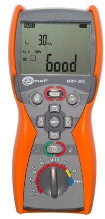 Miernik zabezpieczeń różnicowoprądowych MRP-201 WMPLMRP201