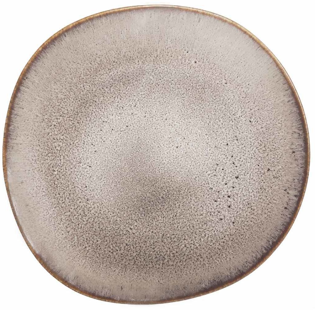 Talerz obiadowy Lave beige (beżowy) Like Villeroy & Boch