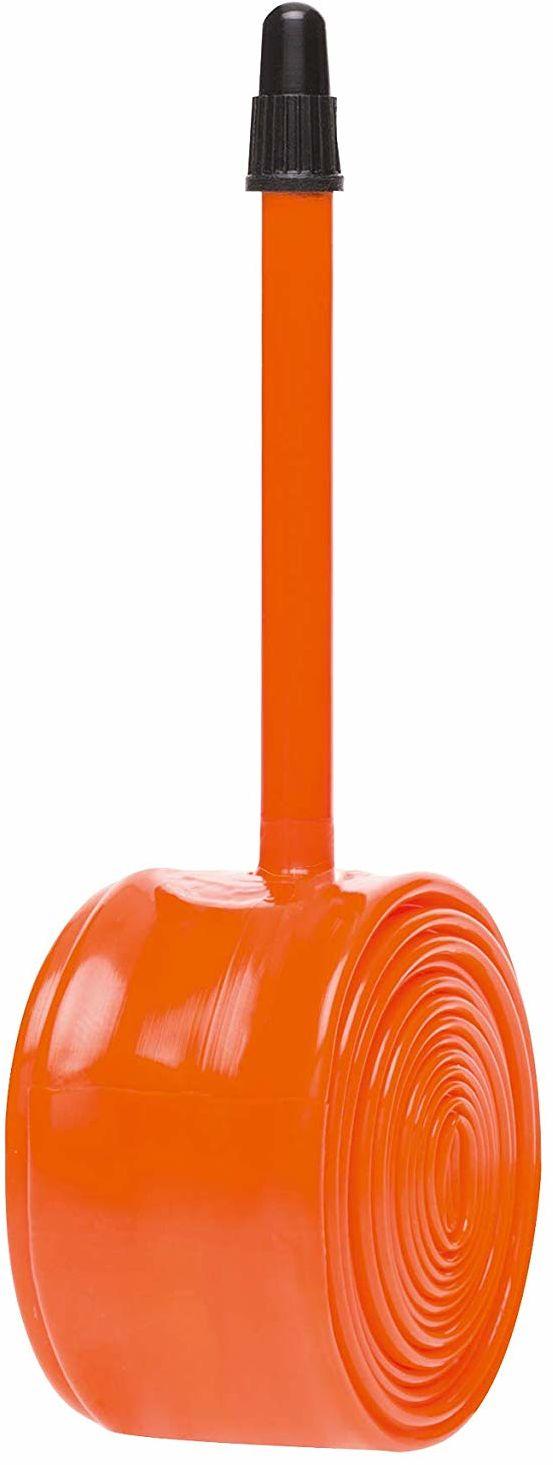 Tubolito PWTU36 Nożna Pompka Rowerowa, Pomarańczowy/Czarny, 700C - 42mm