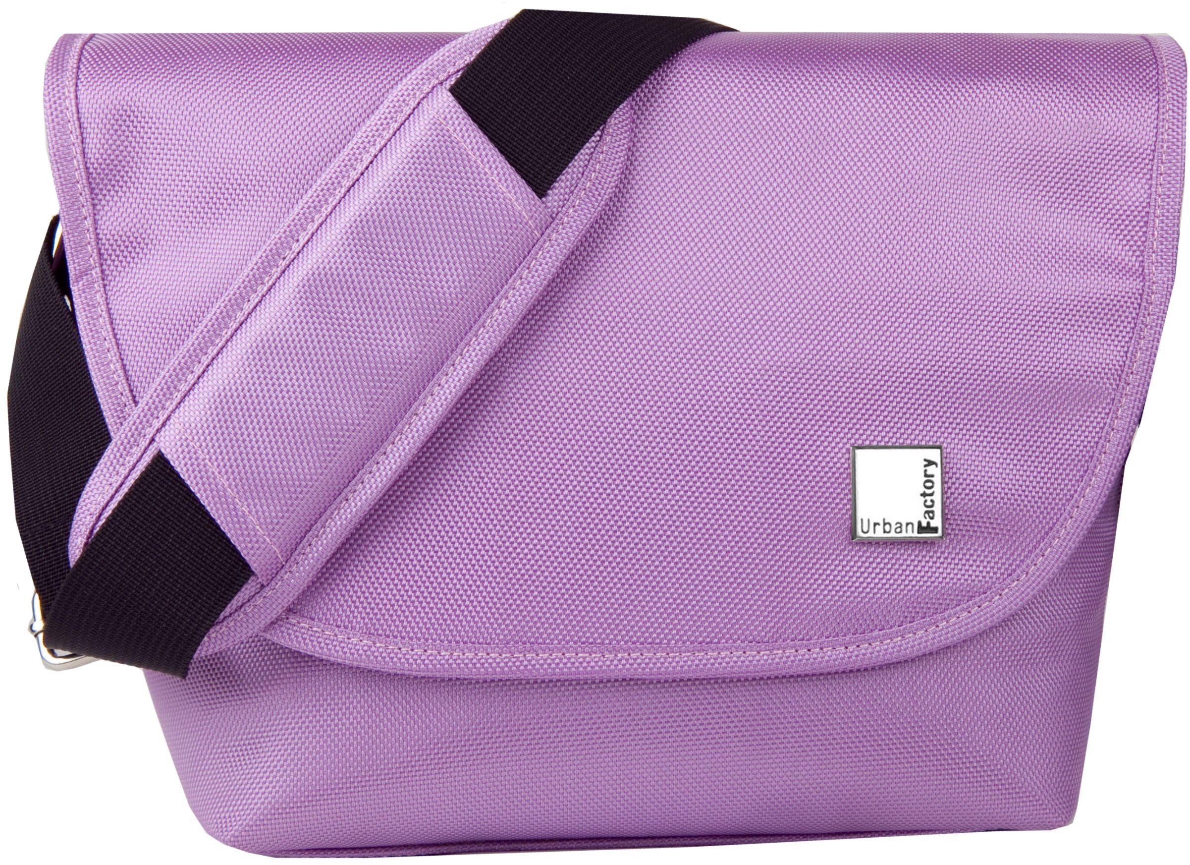 Urban Factory BCR07UF torba na aparat/walizka, zielona, fioletowa  torba na aparat (pokrowiec kurierski, uniwersalny, pasek na ramię, zielony, fioletowy)