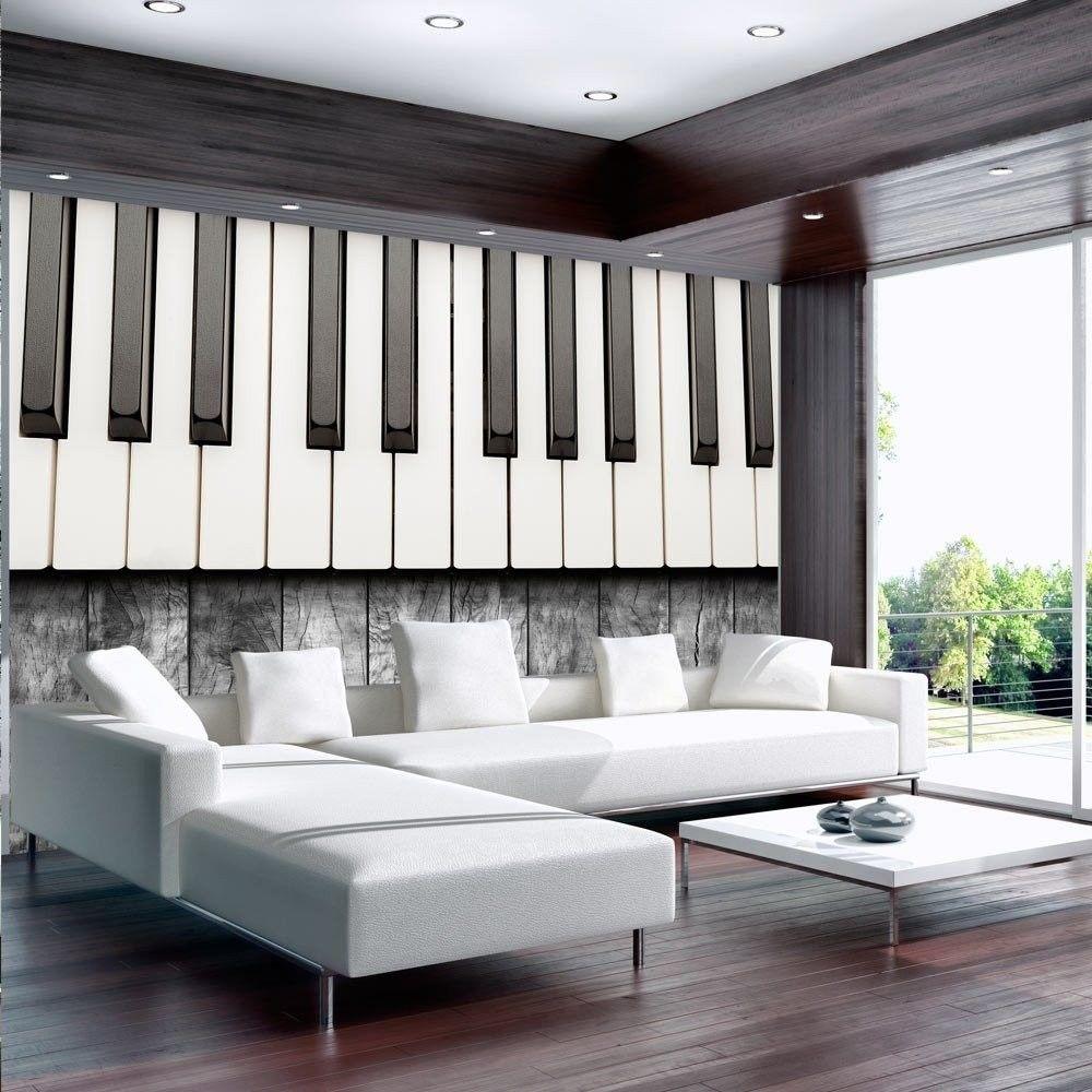 Fototapeta - zainspirowane chopinem - szare drewno