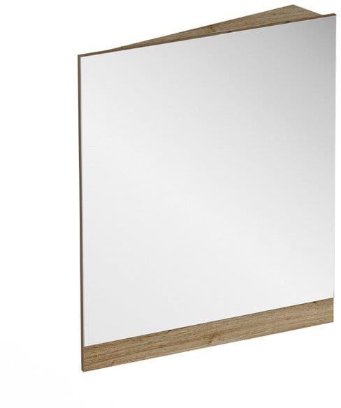 RAVAK 10  lustro narożne 55 cm prawe korpus ciemny orzech X000001075