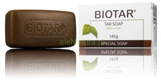 BIOTAR antybakteryjne mydło dziegciowe 140g