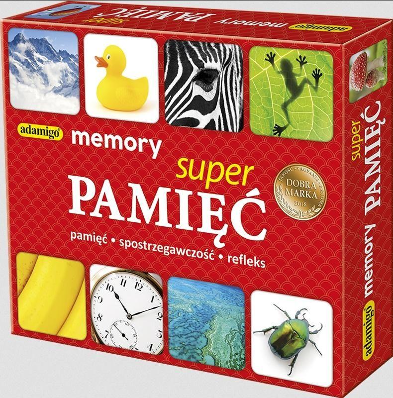 Memory Super pamięć ZAKŁADKA DO KSIĄŻEK GRATIS DO KAŻDEGO ZAMÓWIENIA