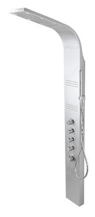 Corsan Led kaskada panel natryskowy z termostatem perła A-013ATPERŁA
