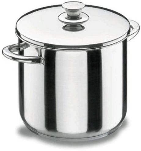 Lacor 40121 garnek do zupy z pokrywką 20 cm Vitrocor